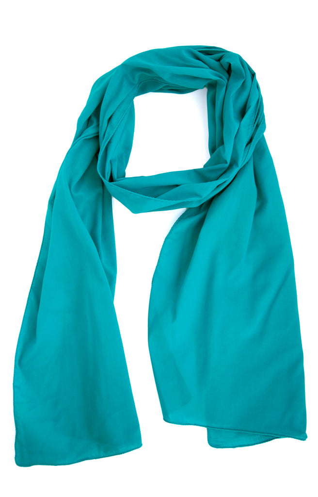 Scarf in Turquoise