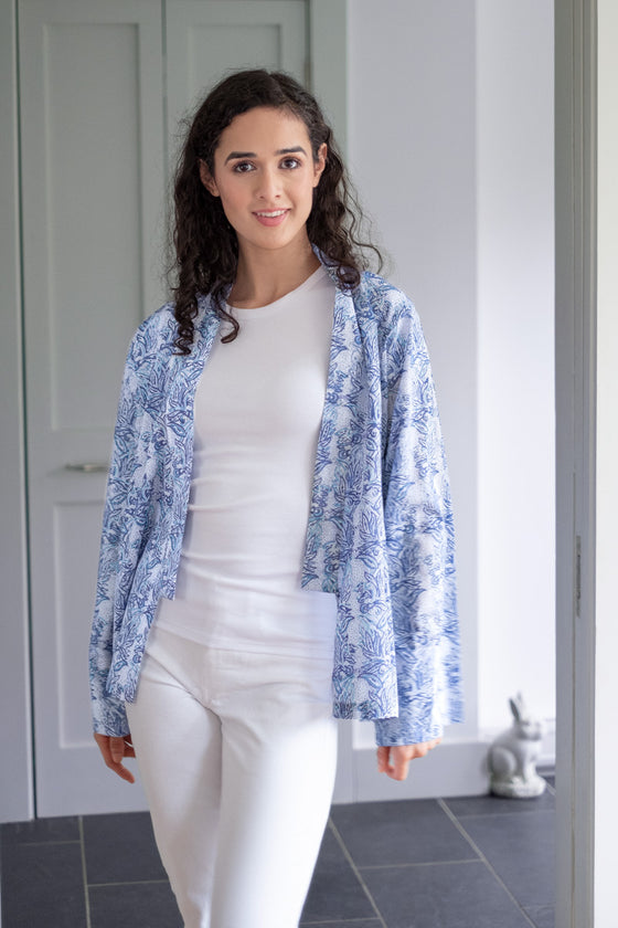 Sara Jacket in Vine Leaves
