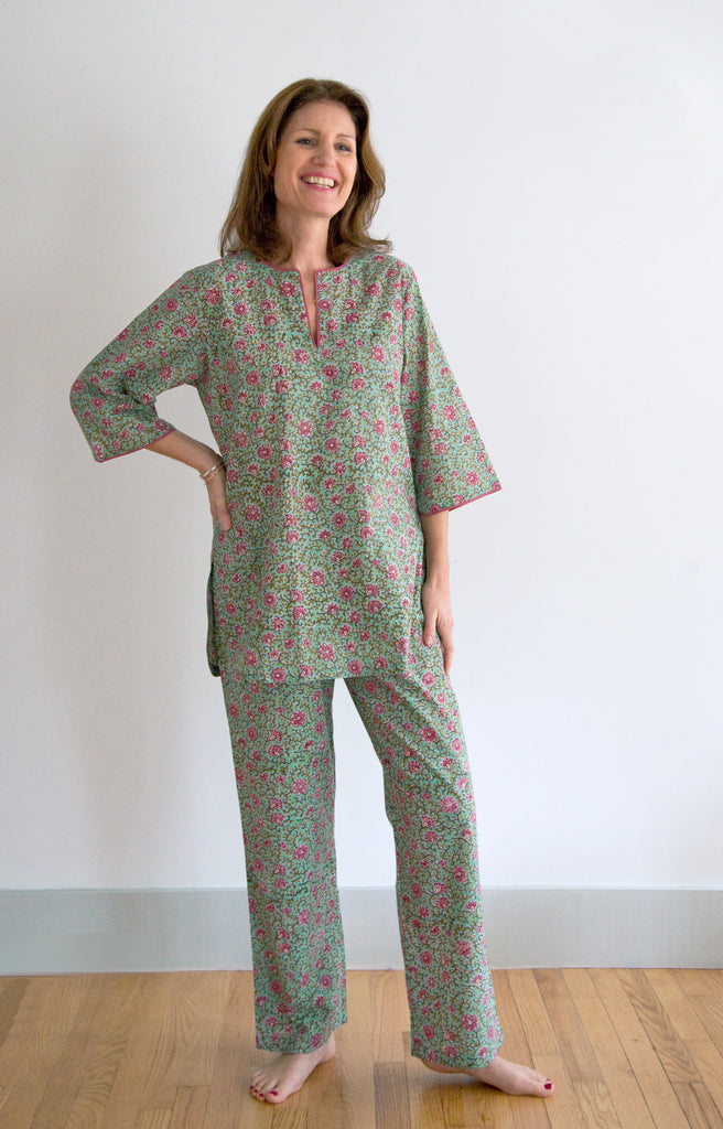 Pajamas in Vine