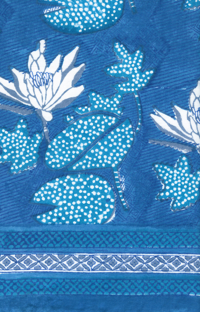Peasant Tunic in Water Lily