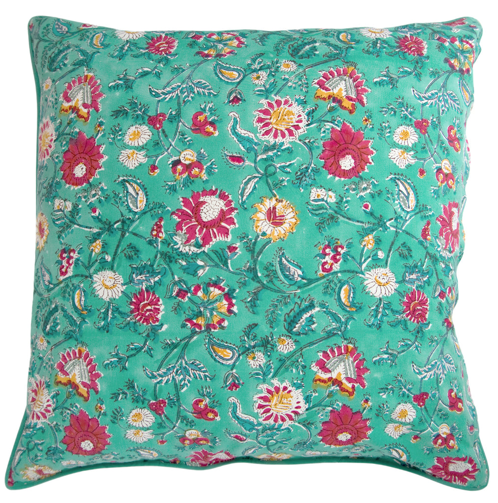Cushion Covers in Winter Garden