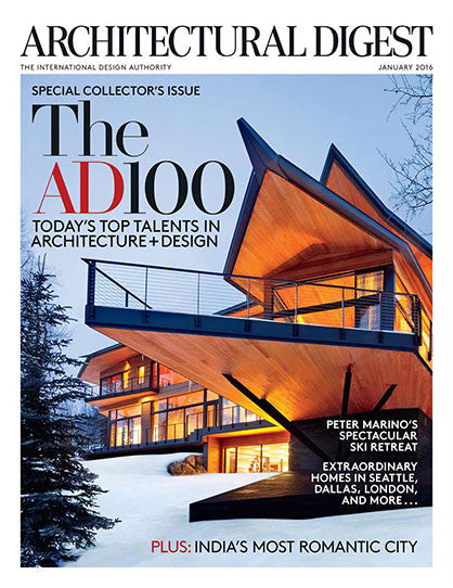 Architectural Digest - Jan 2016