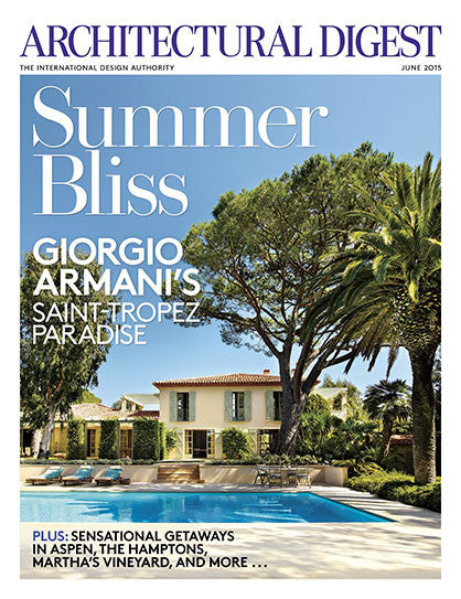 Architectural Digest - Jun 2015