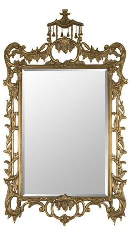 Chippendale Chinoisere Mirror