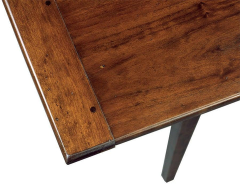 Detail of rectangular top tavern table FDTHSC-5c