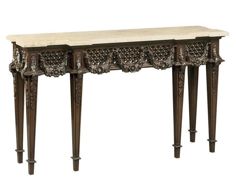 Console table with mable top FOC-6