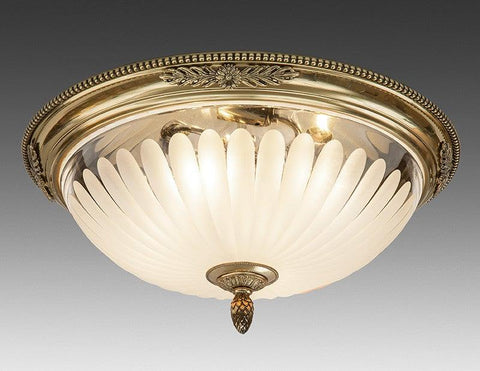 Frosted Glass Ceiling Mount Lantern LCM-22