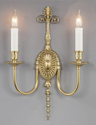 Adams Style Wide Arm Sconce LSFI-25A