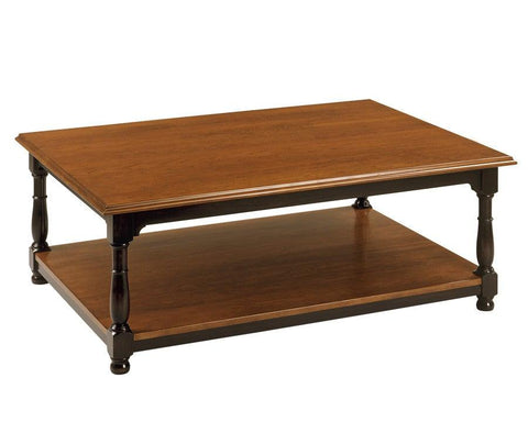 Coffee table with top with ogee edge FOCTT-14