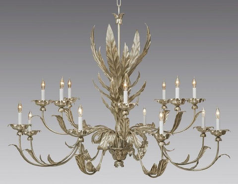 Metal Leaf Design Chandelier LCFI-52A