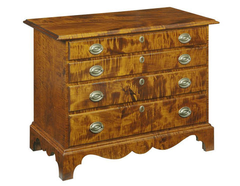 Chest With Four Graduated Drawers FCCC-30a
