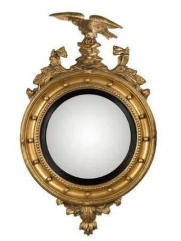 Girandole Convex Mirrors With Eagle And Decorations MC-8A