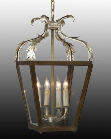 Scroll Leaf Design Hanging Lantern LL-24B