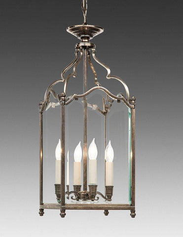 Beveled Glass Four Light English Style Lantern LL-63