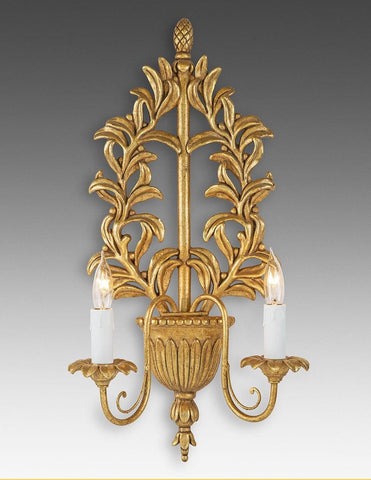 Cachepot And Vine Design Sconce LSFI-119