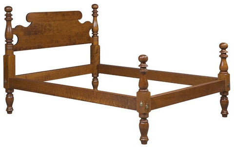 Colonial Masters Cannon Ball Bed With Custom Headboard FBBE-36