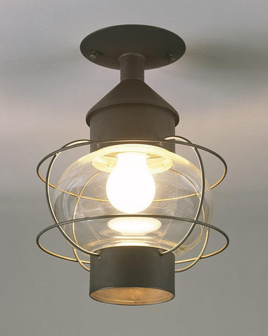 Ceiling Mount Caged Onion Lantern LEH-21