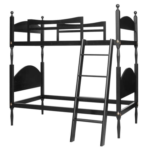 Country Low Post Bunk Bed FBBE-59a