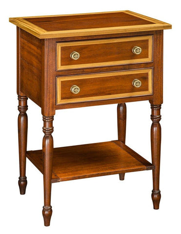 Side table with Satinwood Border and Edge FOSTS-71