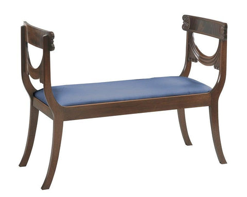 Federal Style Shaped bench FSU-10