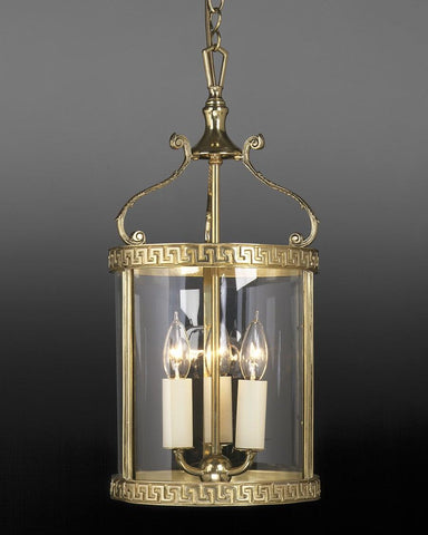 Greek Key Design Hanging Lantern LL-5A