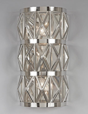 Brass Star Rhomboid Design Sconce LSFI-134