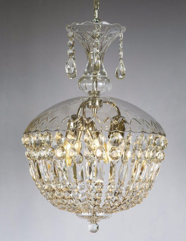 Crystal Dome Three light chandelier LCC-36
