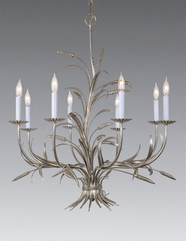 Wheat Sprig and Leaf Design Chandelier LCFI-101