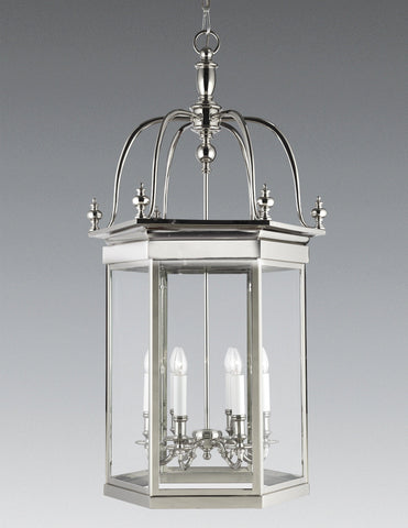 Hexagonal 6-Light Hanging Lantern LL-201