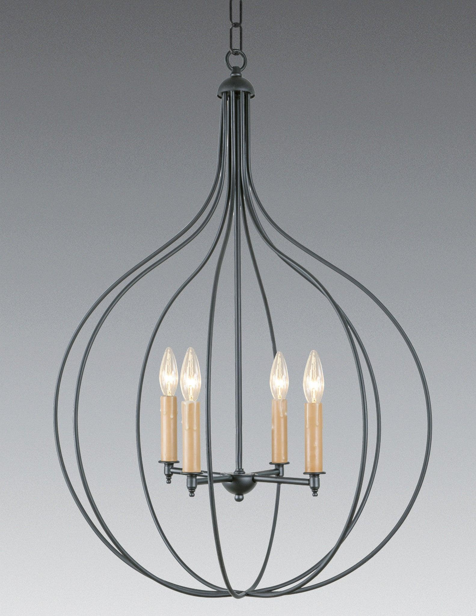 Brasetal Four Light Chandelier Lchsc 26a