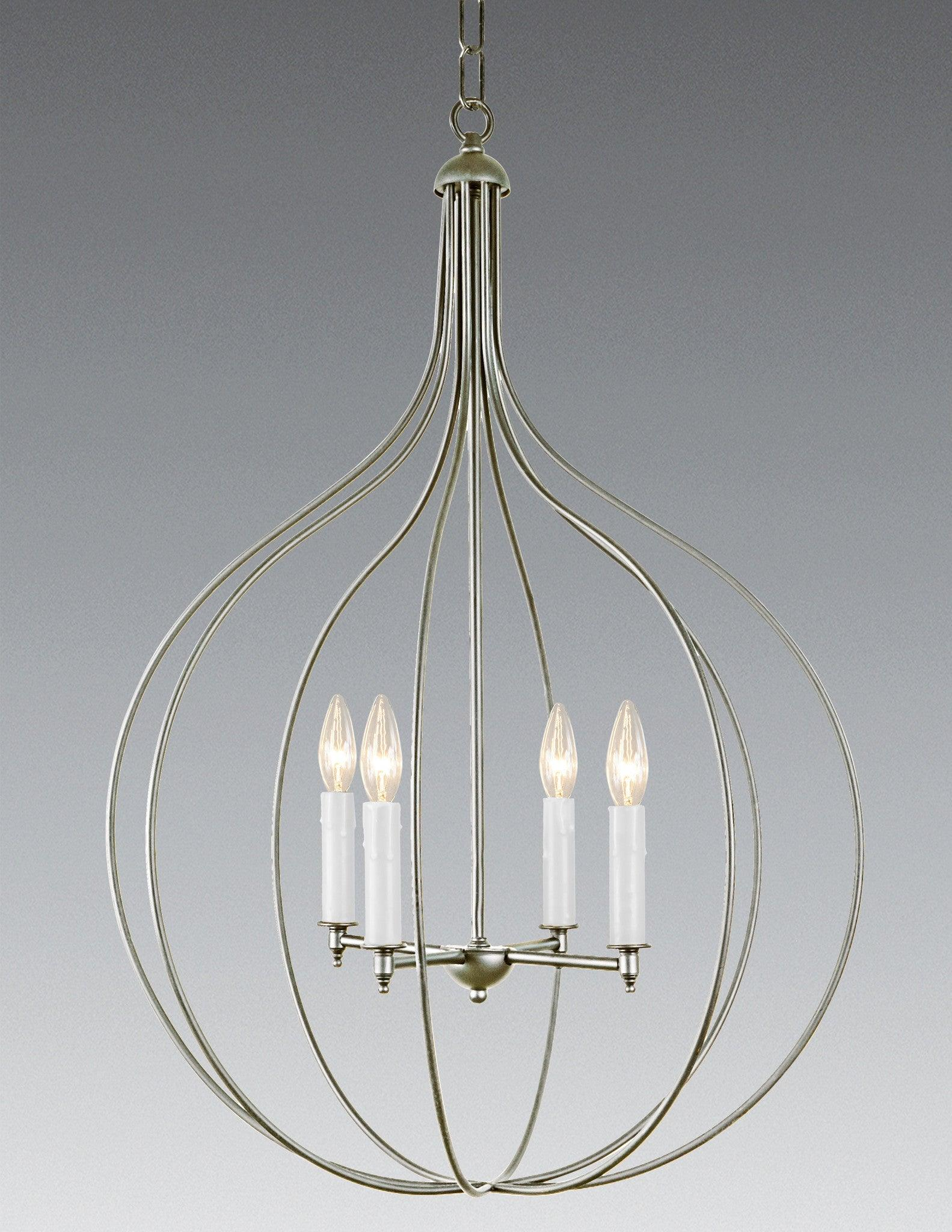 Brasetal Four Light Chandelier Lchsc 26b