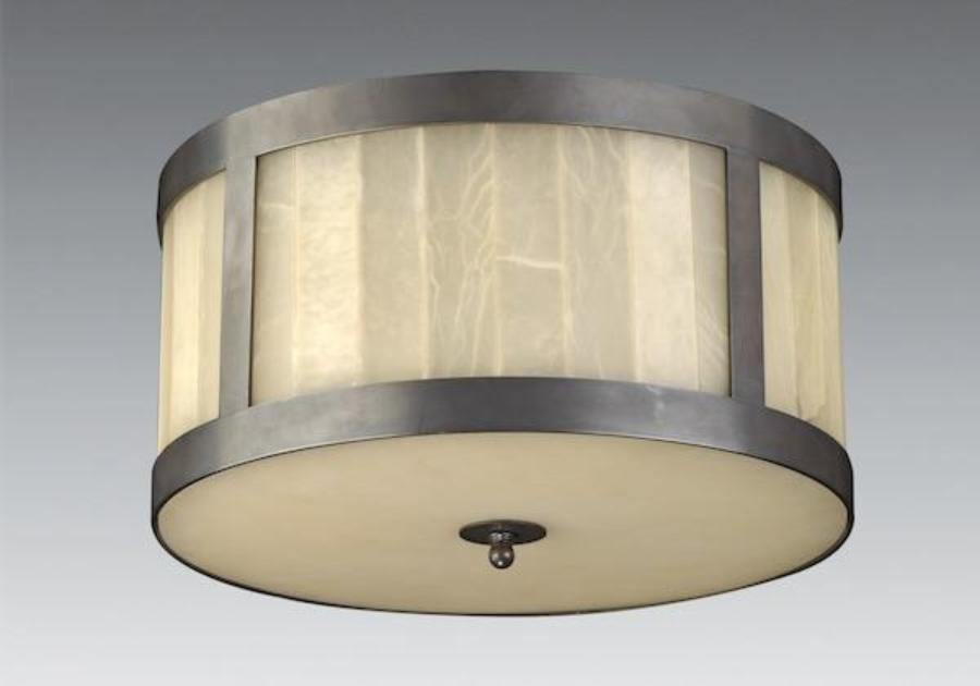Alabaster Glass Shade Ceiling Mount Lcm 47 Federalist