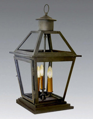 Decorative Top Column Mounted Lantern LECM-73