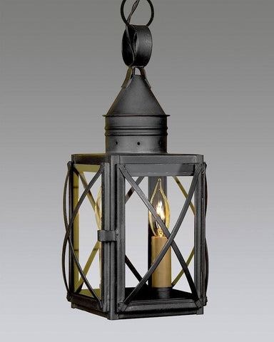 Hanging Criss Cross Two Light Lantern LEH-11