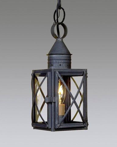Hanging Criss Cross One Light Lantern LEH-12