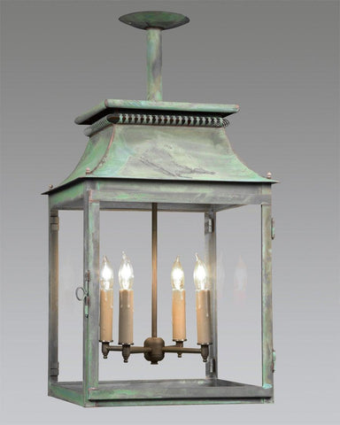 Open Bottom Cut Out Design Lantern LEH-25