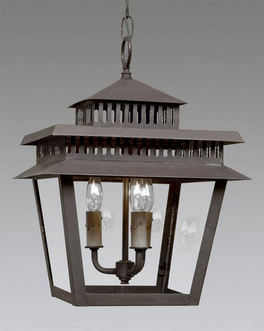 Tiered Top Pierced Lantern LEH-28