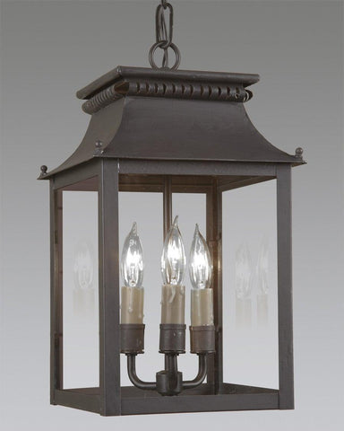 Cut Out Design With Open Bottom Lantern LEH-29