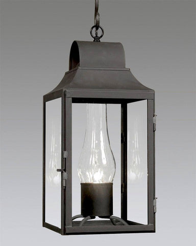 Tall Hanging Round Top Tapered Lantern LEH-5