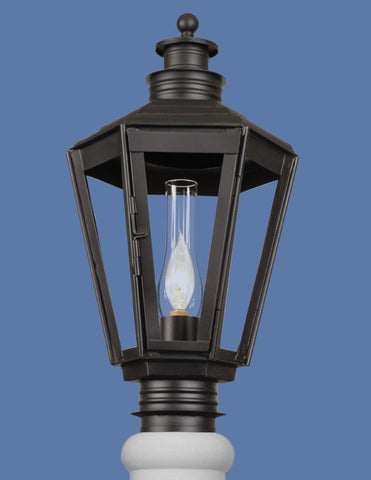 English Style Post Mount Lantern LEPM-20
