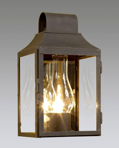 Mirror Back Round Top Lantern LEWM-16