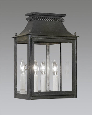 Federal Style Outdoor Wall Mounted Lighting. Mirror Back Cut Out Lantern LEWM-1 & Federal Style Outdoor Wall Mounted Lighting   The Federalist azcodes.com