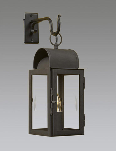Barn Lantern With Metal Hook LEWM-21 & Reproduction u0026 Federal Style Outdoor Lighting | The Federalist