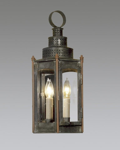 Hexagonal Punch Top Lantern LEWM-23