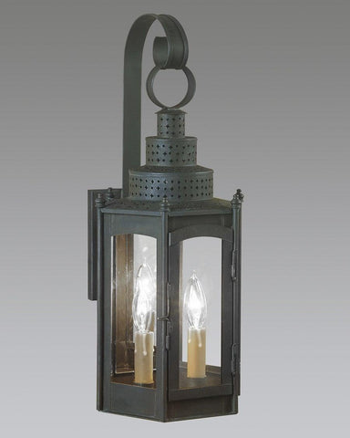 Hexagonal Punch Top Lantern LEWM-24
