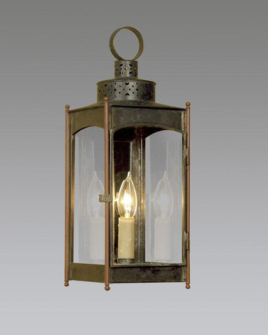 Square Punch Top Lantern LEWM-25