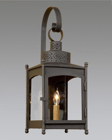 Square Punch Top Lantern LEWM-49