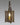 Mirror Back Triangular Lantern Wth Hook LEWM-58