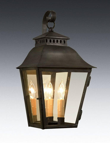 Cut Out Top Design Lantern With Hook LEWM-61