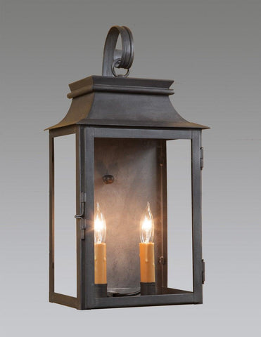 Two Light Station Lantern With Hook LEWM-66